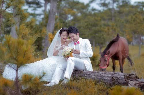Ảnh cưới lãng mạn của Diệp Bảo Ngọc - 16