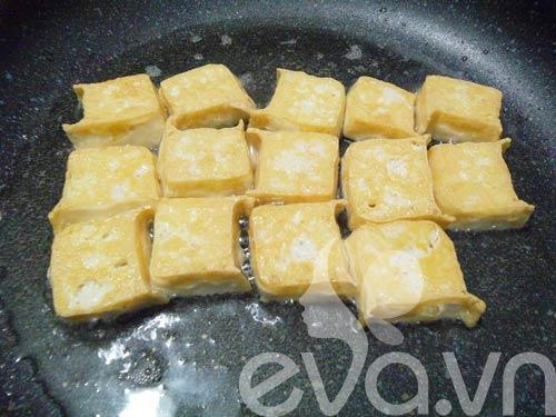 Cơm chiều với đậu tôm rim xì dầu - 4
