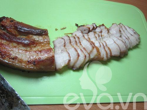 Thịt ba chỉ áp chảo trộn vừng - 5