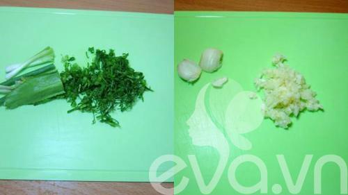 Canh chua móng giò nấu hoa chuối - 4