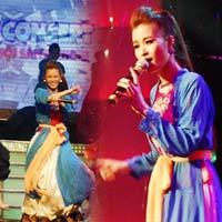 Đông Nhi mặc áo tứ thân nhảy Gangnam Style