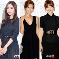 Dàn sao tươi rói tới dự đám cưới Han Hye Jin