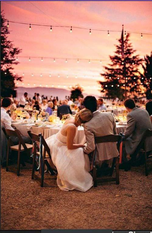 Tiệc cưới ngoài trời lãng mạn mà tiết kiệm - 1