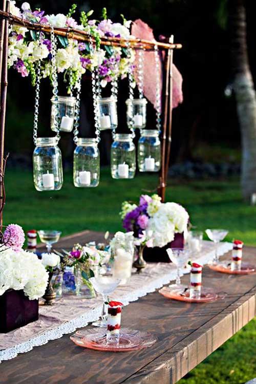 Tiệc cưới ngoài trời lãng mạn mà tiết kiệm - 2