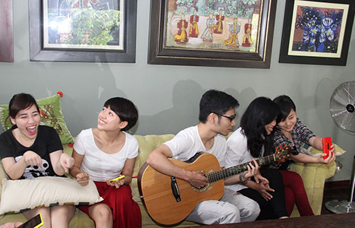 thi sinh the voice khong duoc o cung dien - 6