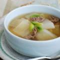Bếp Eva - Canh thịt bò củ cải đầy hấp dẫn