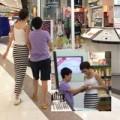 Làng sao - Phương Uyên nắm tay Thiều Bảo Trang ở Thái