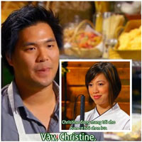 Lynn chọn nguyên liệu, Christine Hà xuất hiện