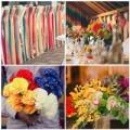 Thời trang - Tiệc cưới rực rỡ với 7 sắc cầu vồng