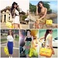 Thời trang - Sao Việt và 'cơn sốt' túi xách vàng