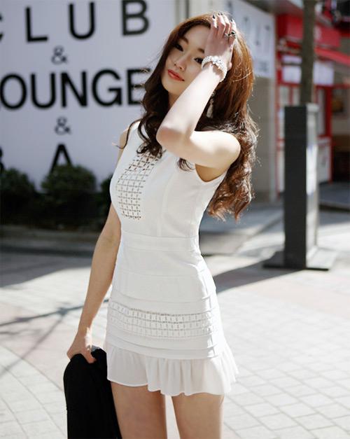 Cách để xinh đẹp với đầm trắng - 13