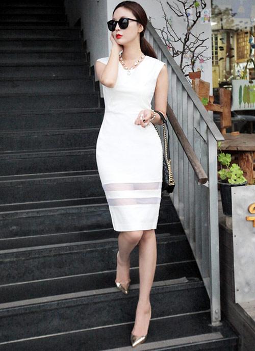 Cách để xinh đẹp với đầm trắng - 17