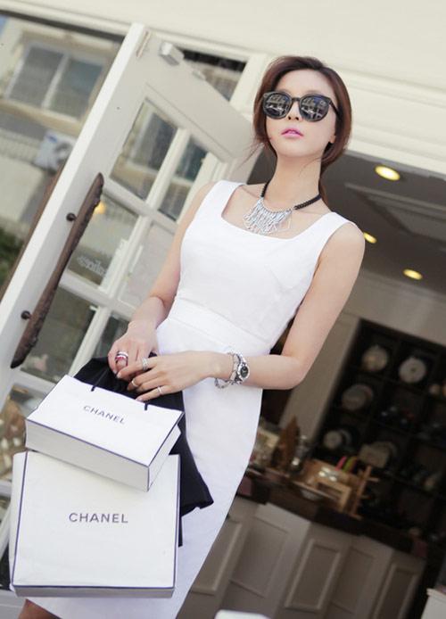 Cách để xinh đẹp với đầm trắng - 16