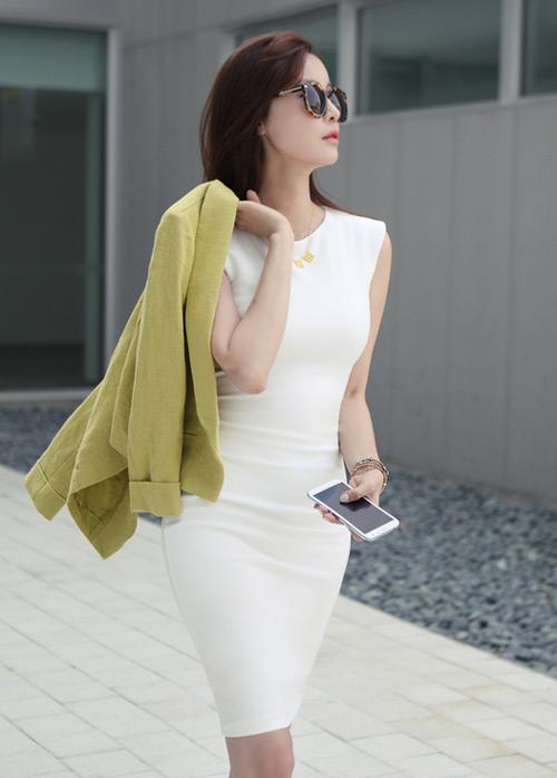 Cách để xinh đẹp với đầm trắng - 15