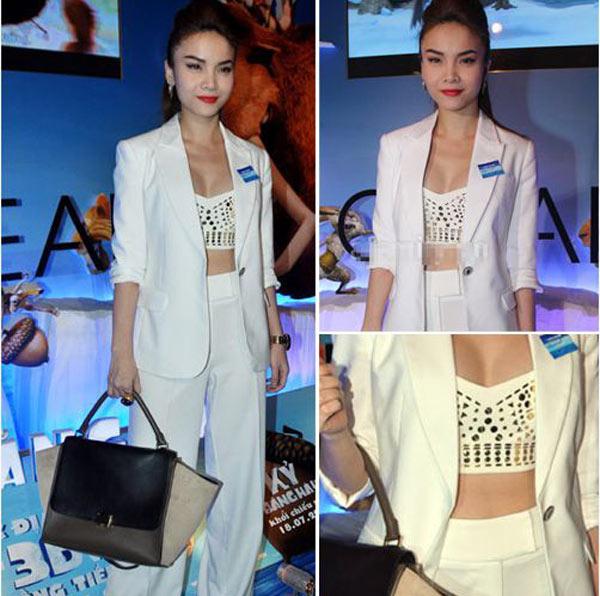 4 cách kết hợp áo lửng ấn tượng của sao Việt - 3