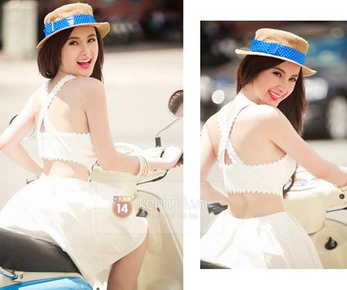 4 cách kết hợp áo lửng ấn tượng của sao Việt - 14