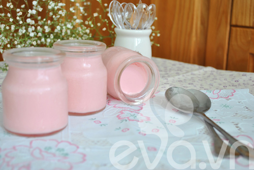 Sữa chua hương dâu mát lạnh ngày hè - 7
