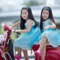 Làm mẹ - Siêu mẫu nhí: Chị em Song Nghi khoe sắc