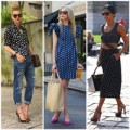 Thời trang - Chấm bi 'tô điểm' phố hè