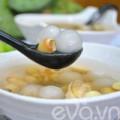 Bếp Eva - Chè hạt sen trân châu bọc dừa thơm mát