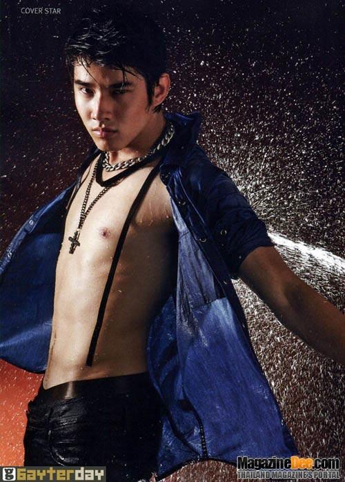 hot boy mario hut fan tren bia tap chi thai - 5