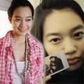"""Làng sao - """"Soi"""" mặt mộc tuổi 30 của """"hồ ly"""" Shin Min Ah"""