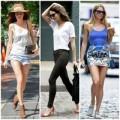 Thời trang - Siêu mẫu mặc gì chống nóng?