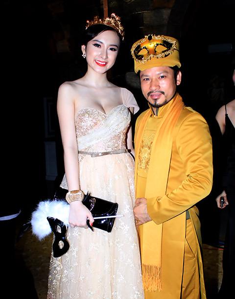 """angela phuong trinh lam """"nu hoang"""" trong lau dai - 4"""