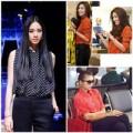 Thời trang - Sao Việt 'phải lòng' sơ mi họa tiết