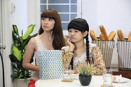 "xuan lan ""vac"" bung bau di dong phim - 9"