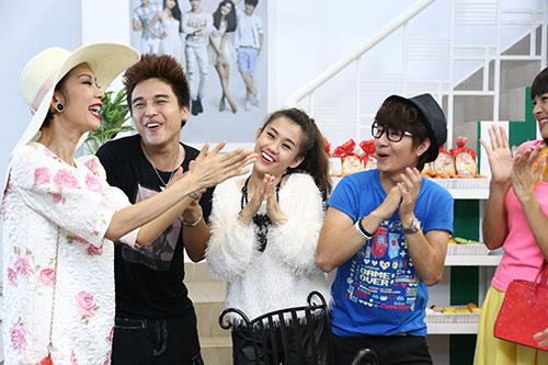 "xuan lan ""vac"" bung bau di dong phim - 5"