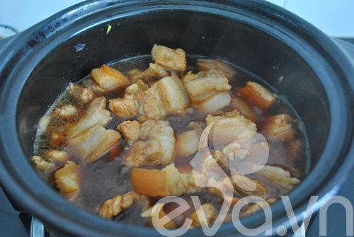 Đổi món với thịt kho dưa - 6