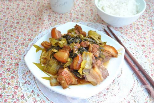 Đổi món với thịt kho dưa - 8