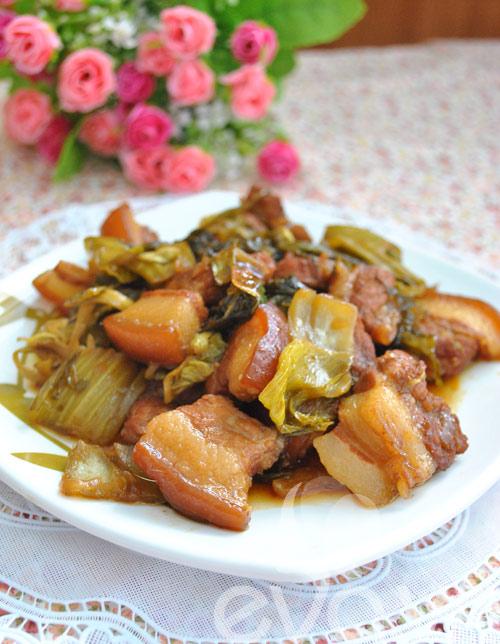Đổi món với thịt kho dưa - 10