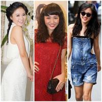 Văn Mai Hương mặc đẹp nhờ giảm cân