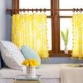 Nhà đẹp - May rèm xinh làm duyên cho cửa sổ