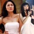 """Làng sao - Văn Mai Hương lạ lẫm trong"""" Váy hồng"""""""