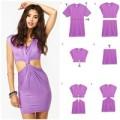 Thời trang - Eva khéo tay: Khoe eo thon với váy cu-out 'tự chế'