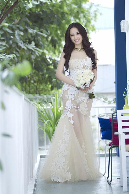mai phuong thuy lam co dau tuoi 25 - 1