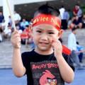 Làm mẹ - Fan nhí cổ vũ hết mình cho Việt Nam – Arsenal