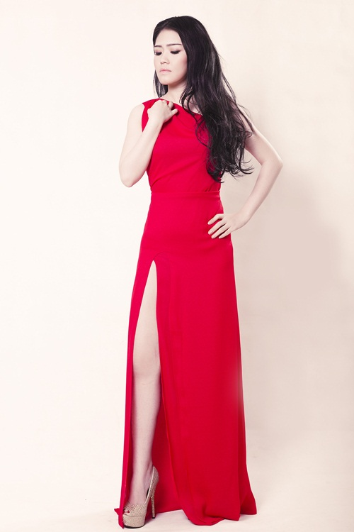 """lo dien """"nguoi em song sinh"""" cua hh thuy dung - 9"""