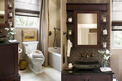 Th i r ng ph ng t m nh th t d for Small full bath designs