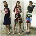 Thời trang - Preen 'bùng nổ' họa tiết in hoa hiện đại