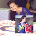 Làng sao - Thanh Hằng xinh đẹp mừng sinh nhật tuổi 30