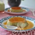 Bếp Eva - Thử làm bánh flan vị trà xanh thơm ngon