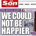 Tin tức - Tờ The Sun đổi thành The Son vì 'em bé hoàng gia'