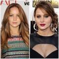Làm đẹp - Học Jennifer Lawrence chọn tóc cho mặt tròn