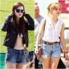 Emma Watson khoe chân thon nuột với sooc jeans