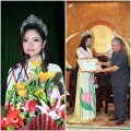 Làng sao - HH Dân tộc Ngọc Anh được quê nhà tặng bằng khen