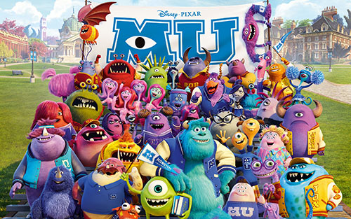 uoc duoc mot lan den... monsters university - 1